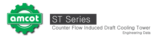 amcot logo header for ST Series engineering data